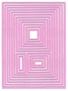 Nellie Snellen's Multi-Frame Die - Photo Frames,$16.99