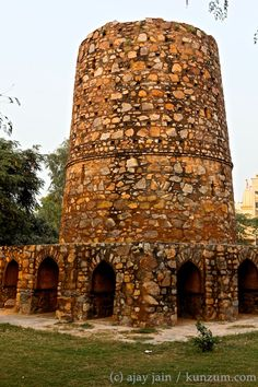 Chor Minar or Tower of Thieves in New Delhi: If you want to know what real agony is, ask the Mongol invaders who would attack Delhi in waves. Eventually, the emperor Khilji got disgusted, defeated them comprehensively, beheaded 8,000 of them and spiked them in Chor Minar. Or at least that's how the legend goes. Read more in Ajay Jain's book, 'Delhi 101.' For more on the book and to order, visit http://kunzum.com/delhi101.
