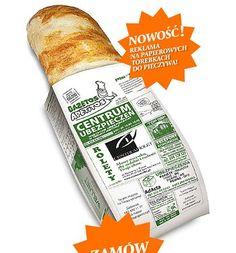 Biznes na opakowaniu od chleba