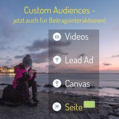 Cool, Facebook packt diese neue Funktion aus & wir sind begeistert: Nutzer, die mit einer Seiten oder Beiträgen interagieren, lassen sich nun zu Zielgruppen zusammenfassen! Wir finden: Bisher Facebooks beste Neuerung, um besonders Marken- und zugleich Klick-affine Nutzer zu erreichen! (aw)  #facebook #customaudiences #omseremeinung #socialmedia #marketing #facebookmarketing #socialmediamarketing #digitalmarketing  #remarketing #zielgruppe #werben #werbung #coolefunktion #neu #omsag #marke