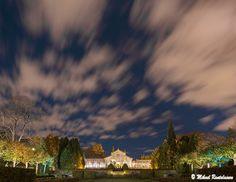 Autumn night in the Winter Garden,  Helsinki, Finland (20.10.2013)
