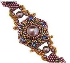Eclectic bracelet designed by Kimberly Stathis