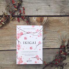 Ikigai - libro di Bettina Lemke in italiano Giunti Editore appoggiato su delle assi accanto a bacche rosse - greenteaforbreakfast.com