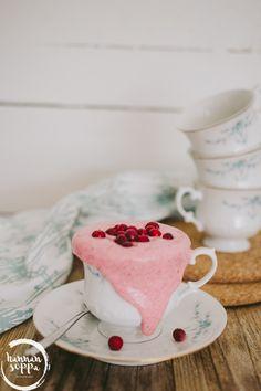 Gluteeniton vispipuuro / Gluten free whipped lingonberry porridge (Hannan soppa)
