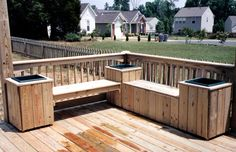 deck ideas pictures | ... deck with metal decorative rail Pressure Treated Deck Evergrain