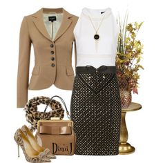 """VERSACE Skirt"" by dimij on Polyvore"