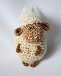 Amigurumi crochet sheep pattern  IN ENGLISH LANGUAGE