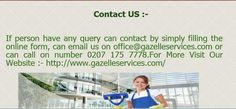 Our #domestic #customers are pleased with our cleaners and they are happy with their services.