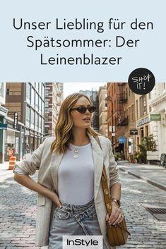 Foto: Instagram @charlottebridgeman  #instyle #instylegermany #blazer #leinenblazer #sommerblazer #blazerlooks Blazer Outfits, Shopping, Instagram, Fashion, Styling Tips, Outfit Ideas, Jackets, Moda, Fashion Styles