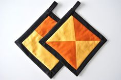 Orange, Yellow and Black...Oh My!! by Bonnie Sernesky on Etsy