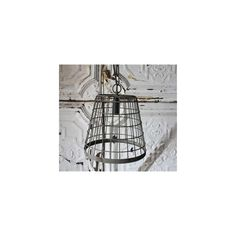 Petite Cage Light - The Inglenook Decor ($53) via Polyvore