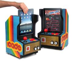 This is a gift I'd like to get myself. iCade - iPad accessory. Lots of other iPad accessories.