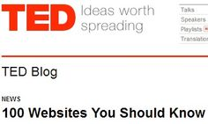 100 Websites You Should Know and Use (updated!)