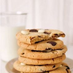 Caramel Cashew Chocolate Cookies