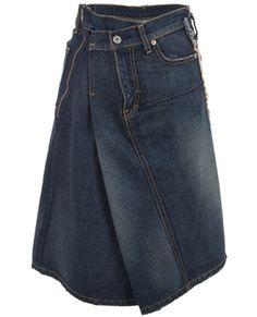 JUNYA WATANABE Asymetric skirt