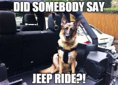 Jeep ride!