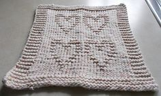 Ravelry: Hearts Quartet Dishcloth pattern by Pretty and Practical Patterns