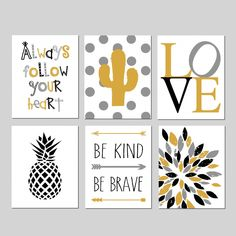 Gold and Black Room Decor Teen Girl Room Decor, Teenage Girl Room Decor, Teenage Girl Bedroom Decor Cactus - Set of 6 PR Bedroom Decor For Teen Girls, Teenage Girl Bedrooms, Girl Bedroom Designs, Home Decor Bedroom, Bedroom Ideas, Boy Bedrooms, Black Room Decor, Black Rooms, My New Room