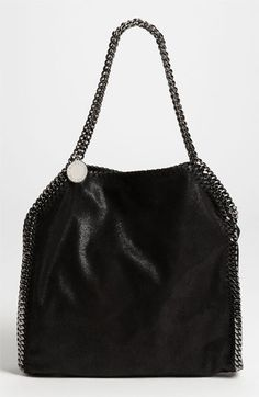 Stella McCartney 'Falabella - Small' Shaggy Deer Tote available at #Nordstrom