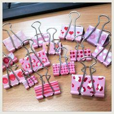 binder clip craft | chichicho~ nail art addicts
