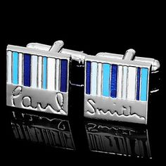 Multicolor Stripes Cufflinks - Paul & Smith