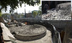 Circular temple to god of wind is uncovered in Mexico City