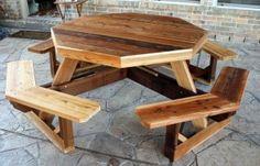 Cedar Picnic Table Plans