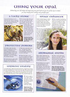 OPAL ... Crystals & Stones