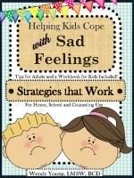 Helping kids cope with SAD feelings for less than $5...(PLUS...ANGER, Pumpkin Feelings and A Bushel Full of Feelings for less than $5).  Therapeutic grade interventions.  ENDS TODAY...just a few more hours to go!  Follow us so you'll be sure to get notice of all of our specials.  #Feelings #emotions #schoolcounselor