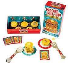 Learning Resources Educational Insights Pancake Pile-Up Relay Game Board Games For Kids, Games For Toddlers, Relay Race Games, Tools And Toys, Pancake Stack, Preschool Games, Preschool Ideas, Fun Activities, Gross Motor Skills