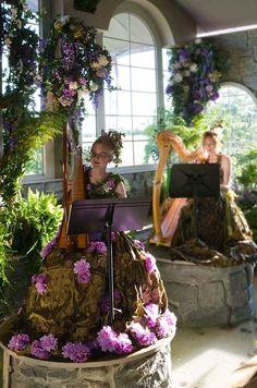 Outdoor Country Wedding, Purple, Garden || Colin Cowie Weddings