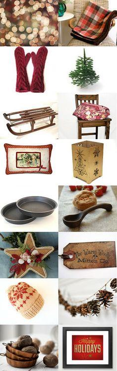 A jewelry by NaLa Etsy treasury ... https://www.etsy.com/treasury/NzQ0NzM5M3wyNzIyODU2NTkz/happy-golden-days-of-yore #Christmas #holidays #shopping #gifts #nostalgia