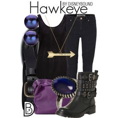 A fashion look from October 2014 featuring black top, stretch jeans and black boots. Browse and shop related looks.