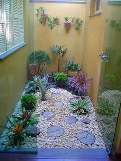 Jardim de inverno lindo