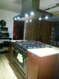 My New Oven And Range Hood..oven From Costco ..Hood From Pro