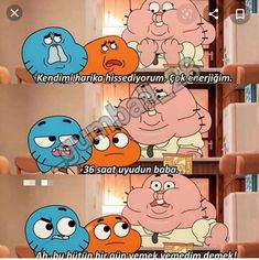 36 saat:q Im Depressed, Bts Fans, Gumball, Darwin, Cartoon Network, Funny Quotes, Funny Pictures, Family Guy, Lol