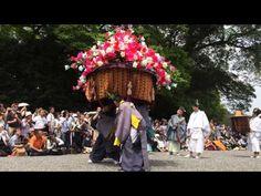 風流傘:葵祭(2015年5月15日 京都御苑 京都府京都市上京区京都御苑3番地):Romantic Area Kyoto 京の都ぶらぶら放浪記