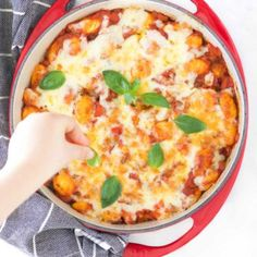 This Gnocchi Bake is an easy recipe perfect for mid week. Delicious comforting and packed with veggies.Gnocchi cooked in rich tomato sauce with cheesy topping. Something the whole family will enjoy. Healthy Toddler Meals, Kids Meals, Family Meals, Easy Meals, Healthy Dinners, Baby Food Recipes, Snack Recipes, Cooking Recipes, Toddler Recipes