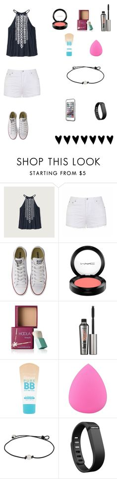 """""""Last Day Of School Tomorrow"""" by soccer-tumblr ❤ liked on Polyvore featuring Abercrombie & Fitch, Ally Fashion, Converse, MAC Cosmetics, Benefit, Maybelline, Zodaca, Fitbit and LifeProof"""