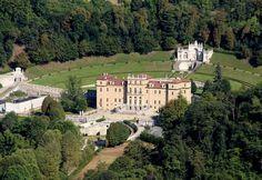 Villa della Regina, veduta aerea. Foto di Massimo Oliva