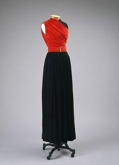 Evening dress 1945–55 Designer: Claire McCardell (American, 1905–1958) Manufacturer: Townley Frocks (American) Metropolitan Museum of Art