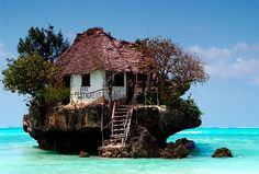 Rock restaurant in Tanzania NEED to go