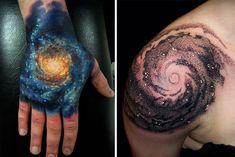 Afbeeldingsresultaat voor black hole tattoo