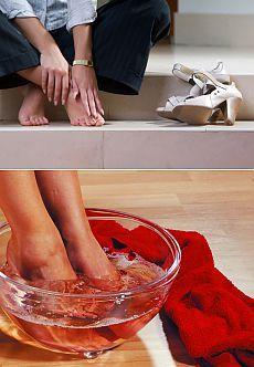 Вылечить болезненные наросты на ногах.