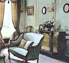 dower-house-3 Downton Abbey | Whole house paint palette