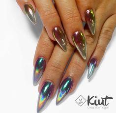 #nails #mirror