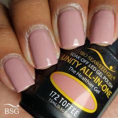Bio Seaweed gel in Toffee Bio Gel Nails, Nude Nails, Pink Nails, Gel Nail Colors, Gel Color, Colour, Nail Polish Art, Nail Art, Gel Pedicure