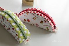 mouse zipper pouch pattern.