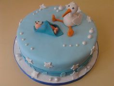 Torta para Baby Shower o Bautismo