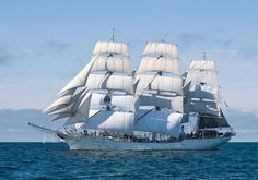 Christian Radich. Norways' official tall ship. I've crossed paths with her on several occasions. Simply beautiful.